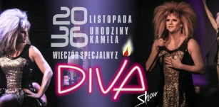 Wyjątkowy wieczór z Diva Show w urodziny Kamila!