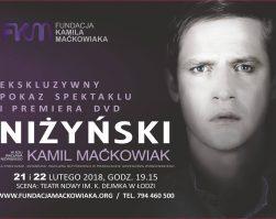 """Już wkrótce – spektakl """"Niżyński"""" na DVD – dziękujemy naszym sympatykom!"""