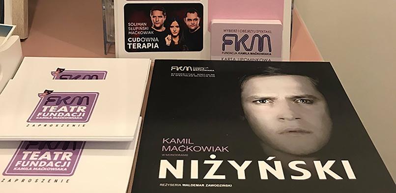 (przed) Świąteczna promocja Teatru Fundacji Kamila Maćkowiaka