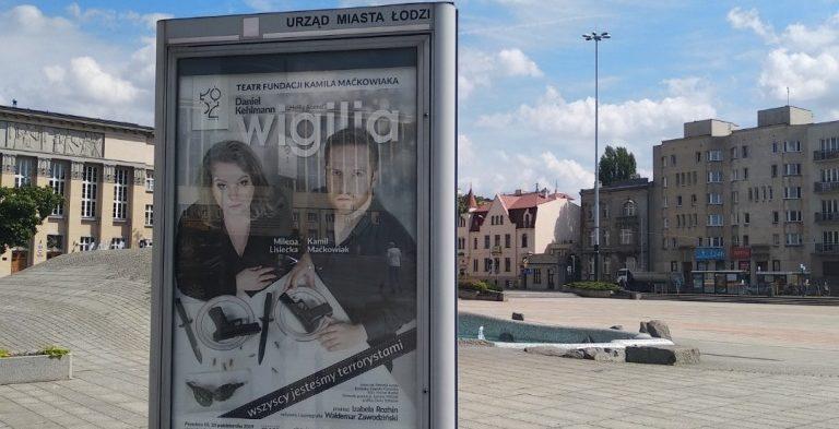 """""""WIGILIA"""" na ulicach Łodzi"""
